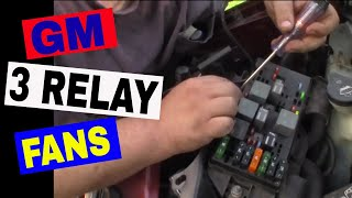 GM 3 Relay Low/High Cooling Fan Explanation/Diagnosis/Testing - Chevy Venture