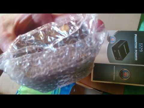 Unboxing InnoGear 48V Phantom Power
