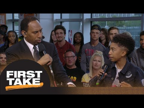 Stephen A. applauds Miles Brown on what Cavaliers need to do to win Game 3 | First Take | ESPN