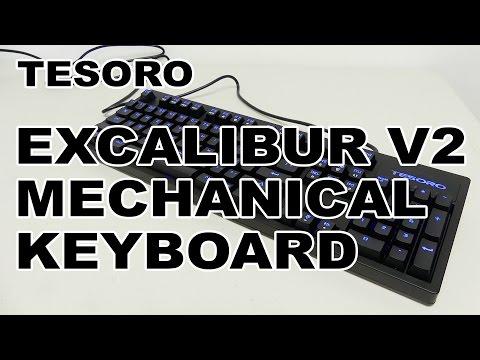 Tesoro Excalibur V2 Mechanical Gaming Keyboard Review