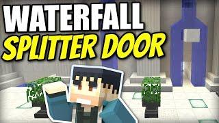 Minecraft Ps4 Waterfall Splitter Door Tutorial Ps3 Xbox Wii U Pe