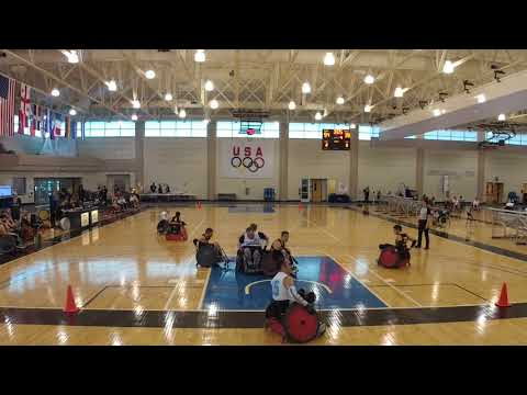 Detroit Wheelchair Rugby Club  versus Chicago Period 4 (2018 03 17)