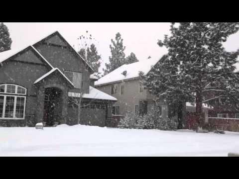 30 Seconds of Bend Oregon: Snowfall