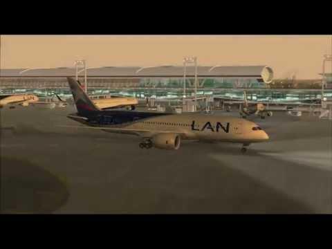 LAN Airlines LA591 787-800 CC-BBE Punta Cana (PUJ) - Santiago de Chile (SCL)
