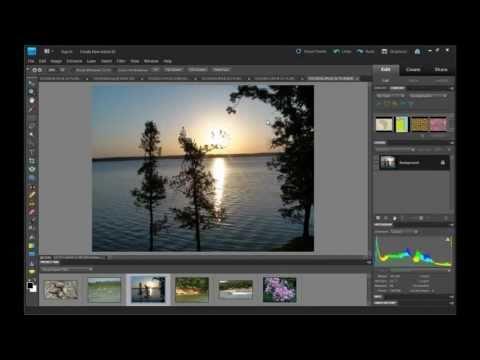 Photoshop Elements 9 Photo Collage