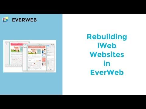 Rebuilding iWeb Websites in EverWeb