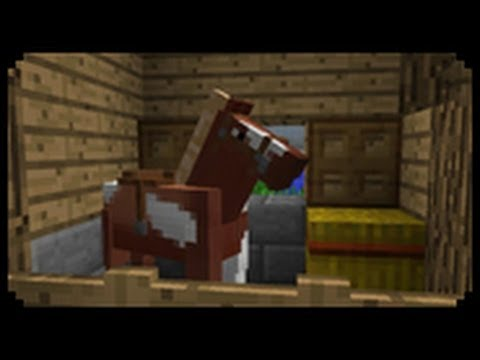✔ Minecraft: How to make a Horse Stable