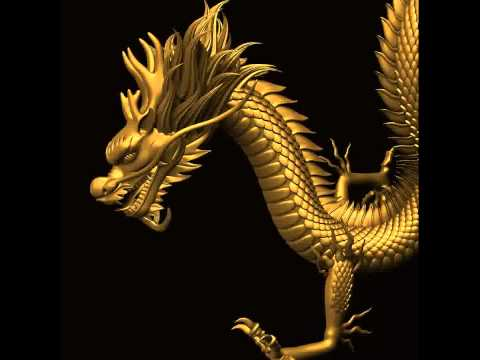 3D Model of Asian Chinese Dragon