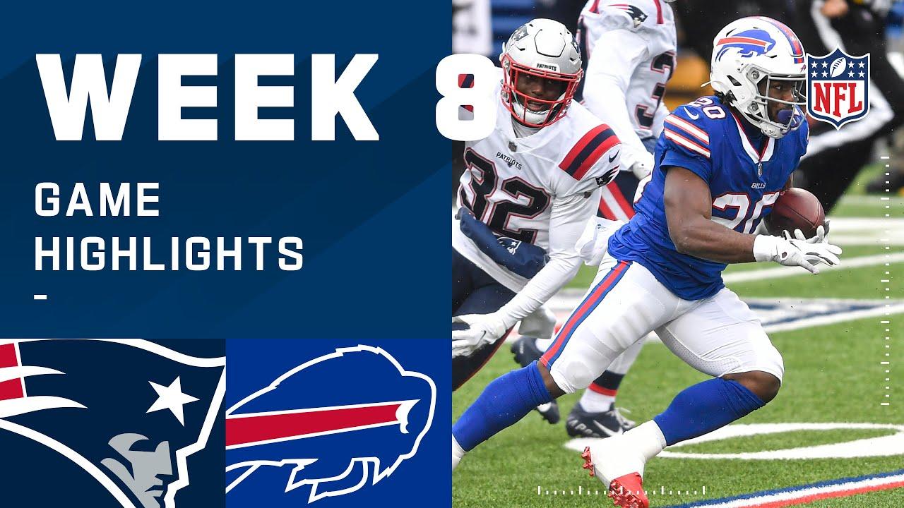 Patriots vs. Bills Week 8 Highlights | NFL 2020
