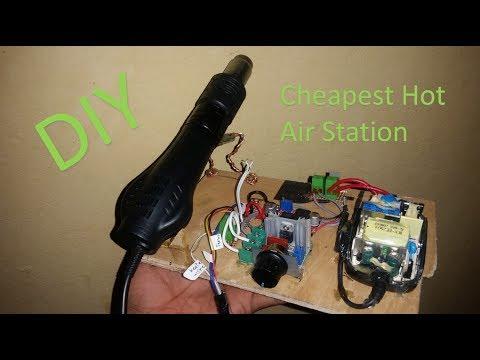 The cheapest DIY hot Air gun station build _  part-01