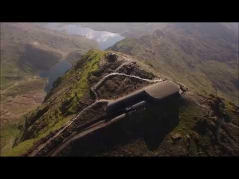 Snowdon Mountain Railway 2016 Drone Footage