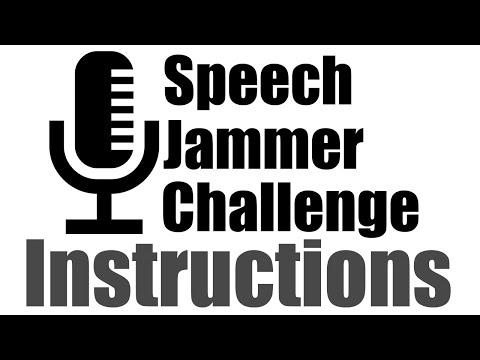 Speech Jammer Challenge ~ Instructions ~ Sir Ayme