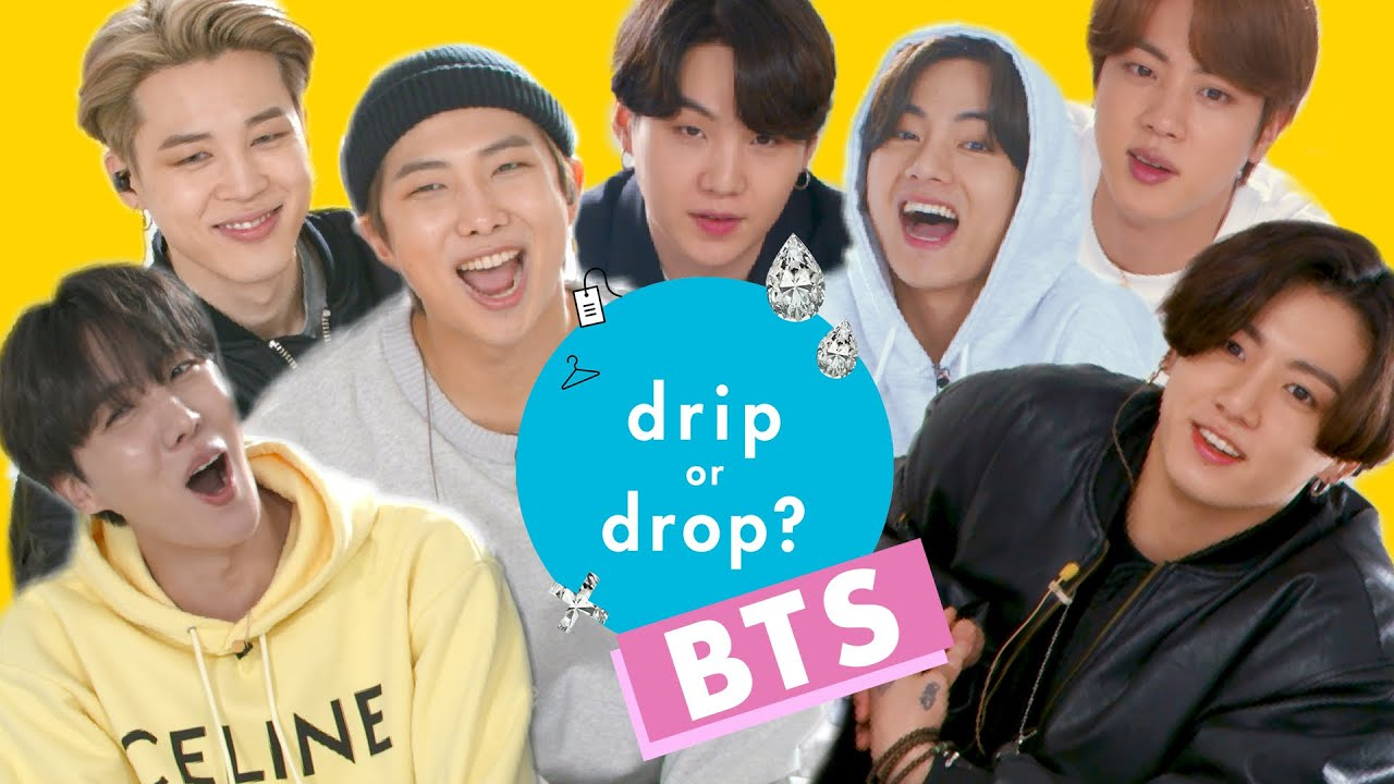BTS Reacts to Their Favorite Fashion Trends | Drip Or Drop? | Cosmopolitan