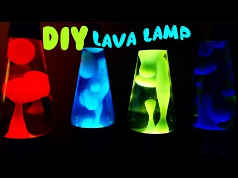 How to Make Lava Lamp Easy Tutorial with Alka Seltzer | Toy Caboodle