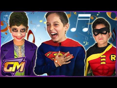 Batman & Superman & Spiderman & Joker - Songs In Real Life!