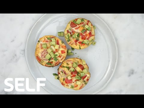 Healthy Low-Carb Egg Muffins Under 200 Calories | SELF