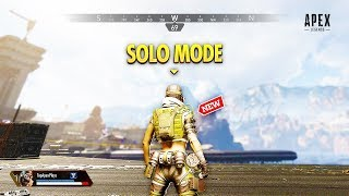 Solo Mode In Apex Legends... (apex Legends Wtf & Funny Moments #147)