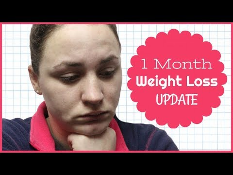 1 MONTH WEIGHT LOSS UPDATE   Allie Young