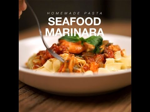 How to Cook - Seafood Marinara Pasta