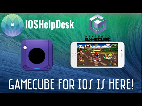 NEW! How to play GAMECUBE games on iOS 11! NO JAILBREAK/NO COMPUTER - iOSHelpDesk