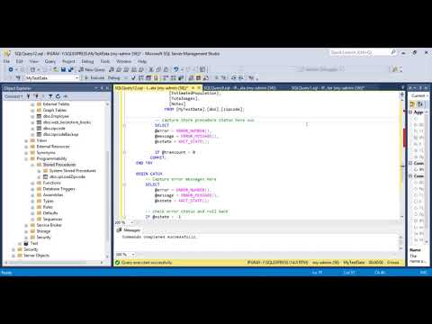 IPGRAY : Sql Server - How to create stored procedure in Sql Server with commit and rollback