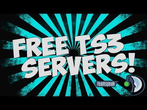 How to Get A FREE Teamspeak 3 Server [HOSTING] with 1500 Slots