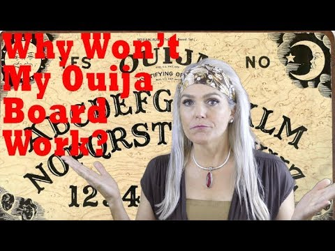 Why Won't My Ouija Board Work? ((+FIVE STEPS to FIX!))