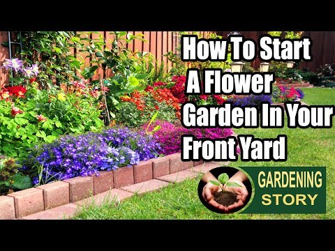 How To Start A Flower Garden In Your Front Yard