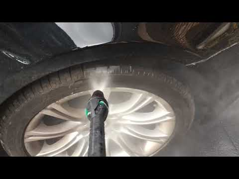 Fastest Awesome wheel & tire wash. Pressure washer on car wheels & tyres is the wash good enough?