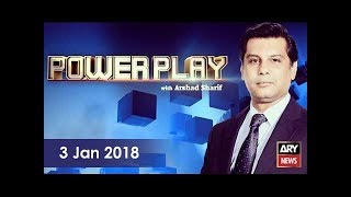 Power Play 3rd January 2018-How did PML-N receive excessive votes in 2013 elections?