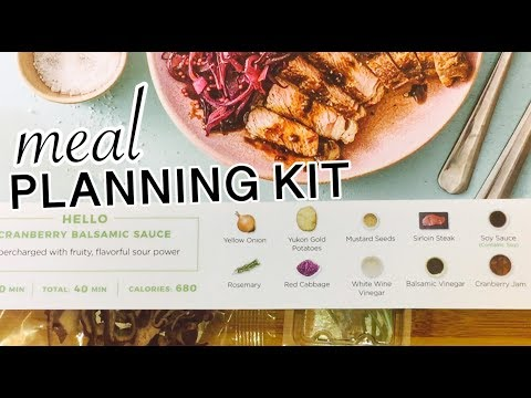 HOW TO MEAL PLAN ( featuring HelloFresh meal kit)   MEAL PLANNING 102