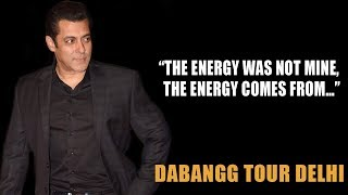 """Salman Khan: """"The Energy Was Not Mine, The Energy Comes From…""""