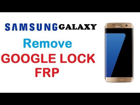 Samsung Galaxy S7 - Remove Google Account Protection (FRP) using Realterm