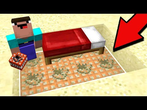 CREATING THE PERFECT MINECRAFT BED WARS TRAP!