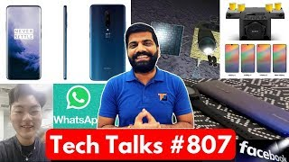 Tech Talks #807 - Realme X Photo, OnePlus 7 Pro Price, Chandrayaan 2, Whatsapp Payments