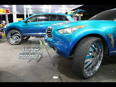 WhipAddict: Orlando Classic Weekend 17', Saturday Night in the Streets, Custom Cars, Big Rims