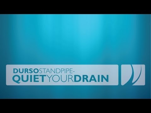 Durso Standpipe - Quiet Your Drain