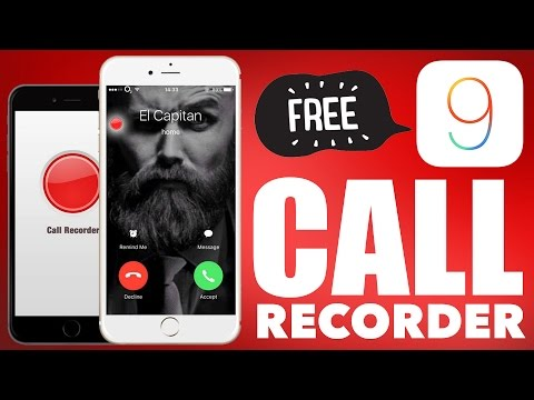 FREE Call Recorder for iOS 9 -10 : iPhone 7 and below (Record Calls, Viber, Skype, FaceTime)