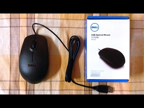 Dell MS111 USB Optical Mouse - The cheapest mouse with a brand name, is it worth it?