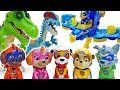 Freeze You Bad Dinosaurs Paw Patrol Mighty Pups ToyMartTV