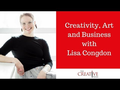 Creativity, Art and Business with Lisa Congdon
