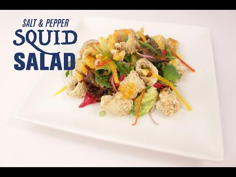 Salt & Pepper Squid Salad