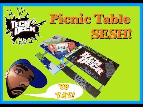 Tech Deck Picnic Table SESH!! (TFT 2-10-15)