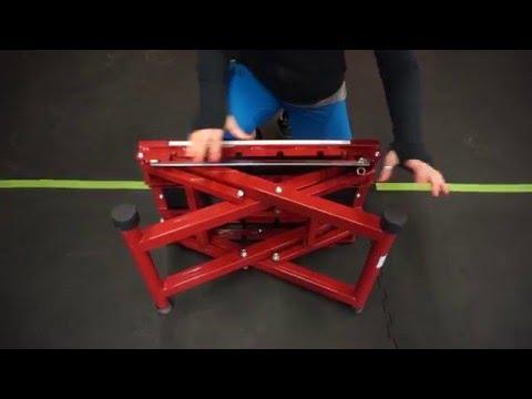 How to adjust Titan Fitness X Adjustable Height Step Plyo Jump Box