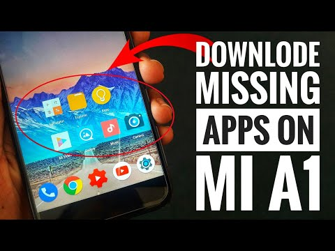 Xiaomi Mi A1: Download Missing Apps🔥 | File Manager, Mi Calculator, Music player, Gallery, Camera,