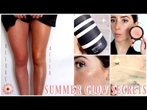 How To Get The Perfect Natural Summer GLOW | Lauren Elizabeth