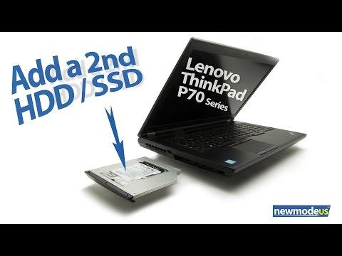 Add a 2nd HDD / SSD, Lenovo ThinkPad P70