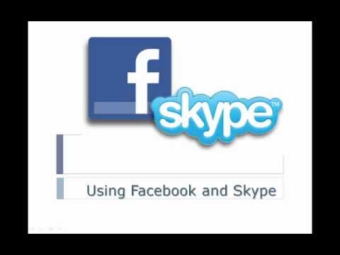 Using Facebook with Skype