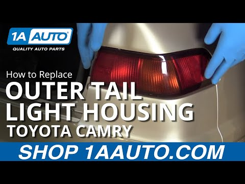 How to Replace Install Outer Tail Light 1997-99 Toyota Camry