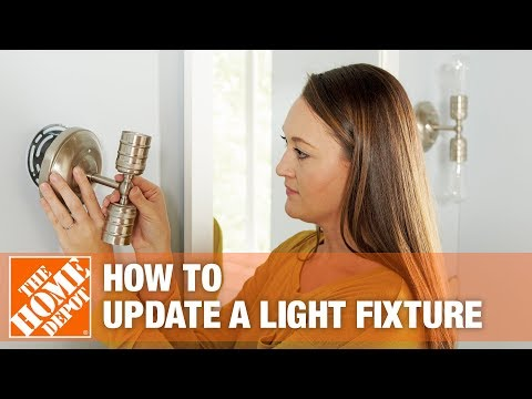 How to Update a Light Fixture - The Home Depot